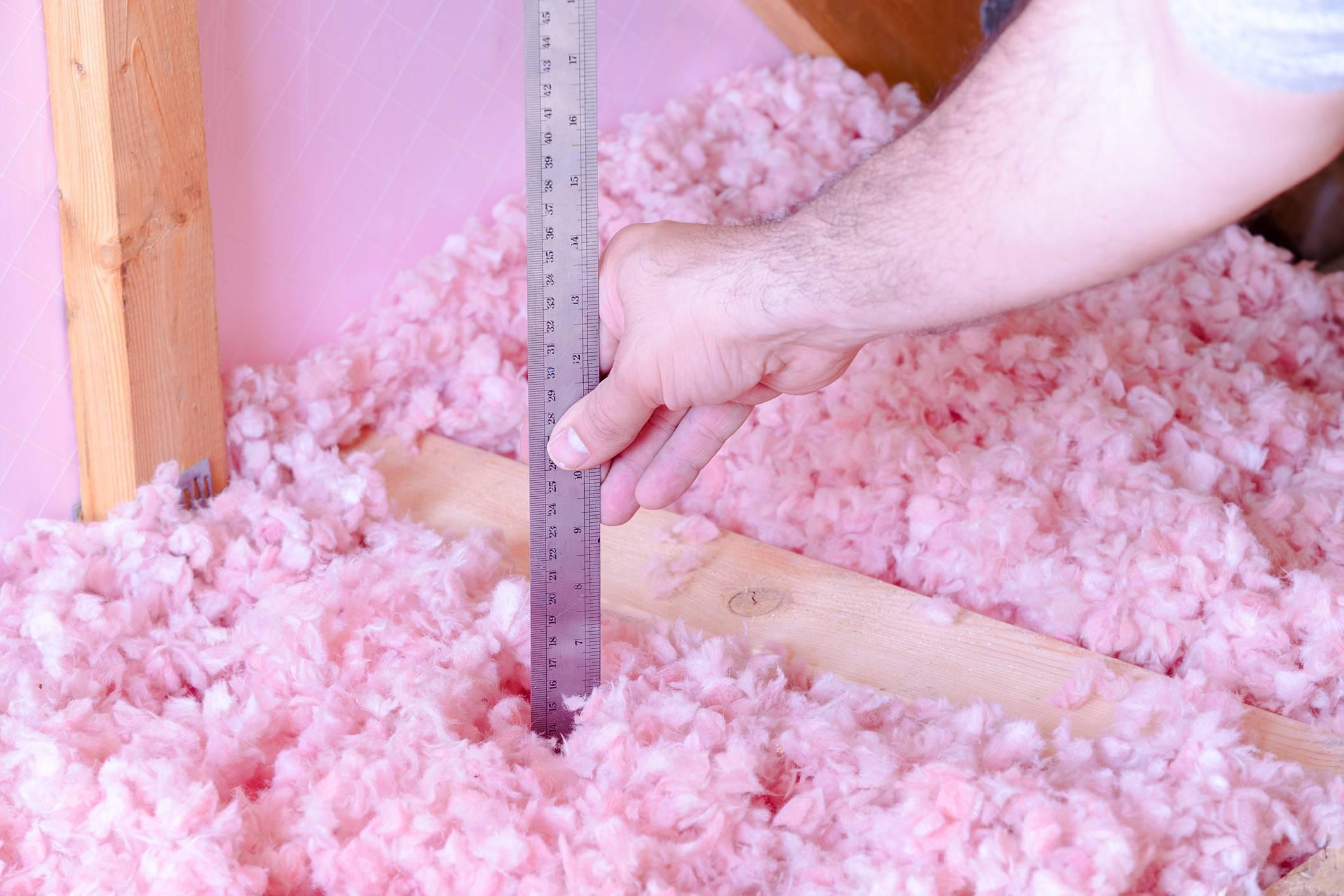 flocons laine de verre